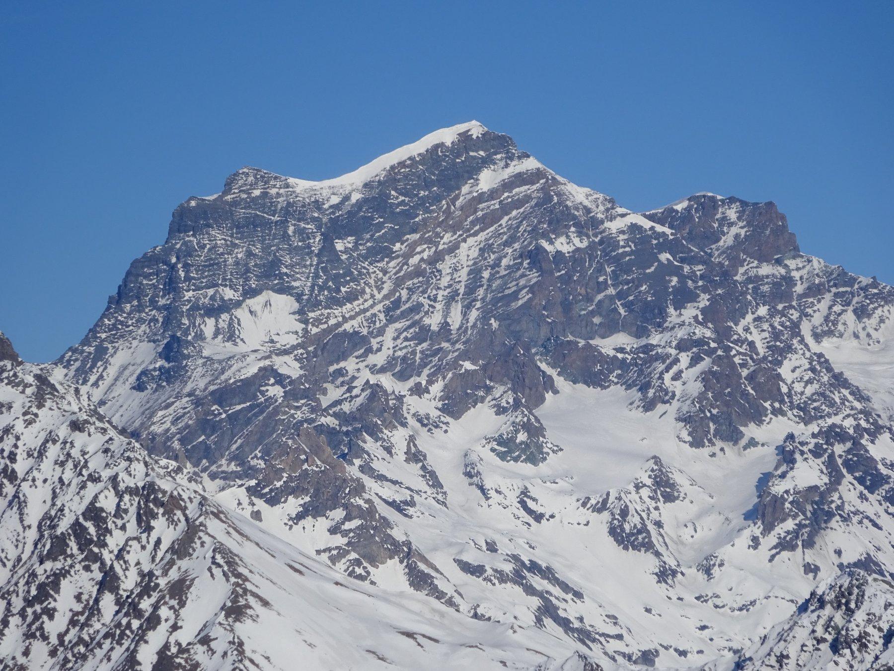 Grand Combin dalla cima del Mont de la Tsa