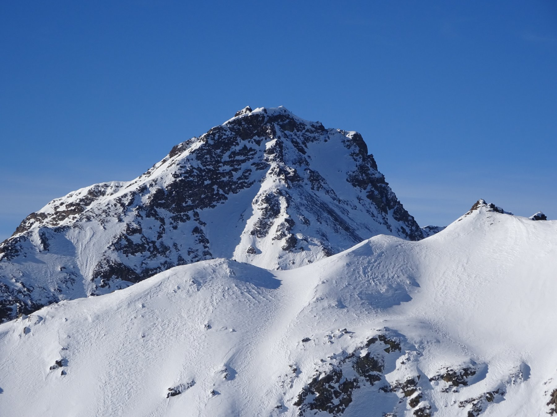 Mont Fallere dalla cima del Mont de la Tsa