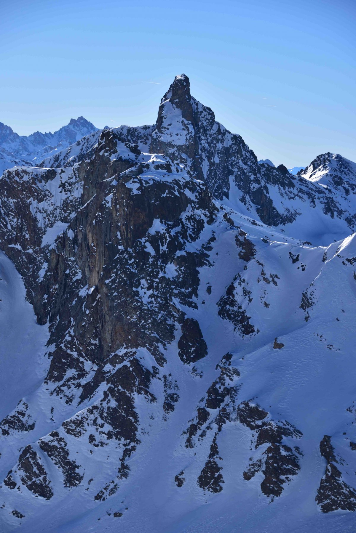 Rocca Bianca e Roc della Niera dalla vetta