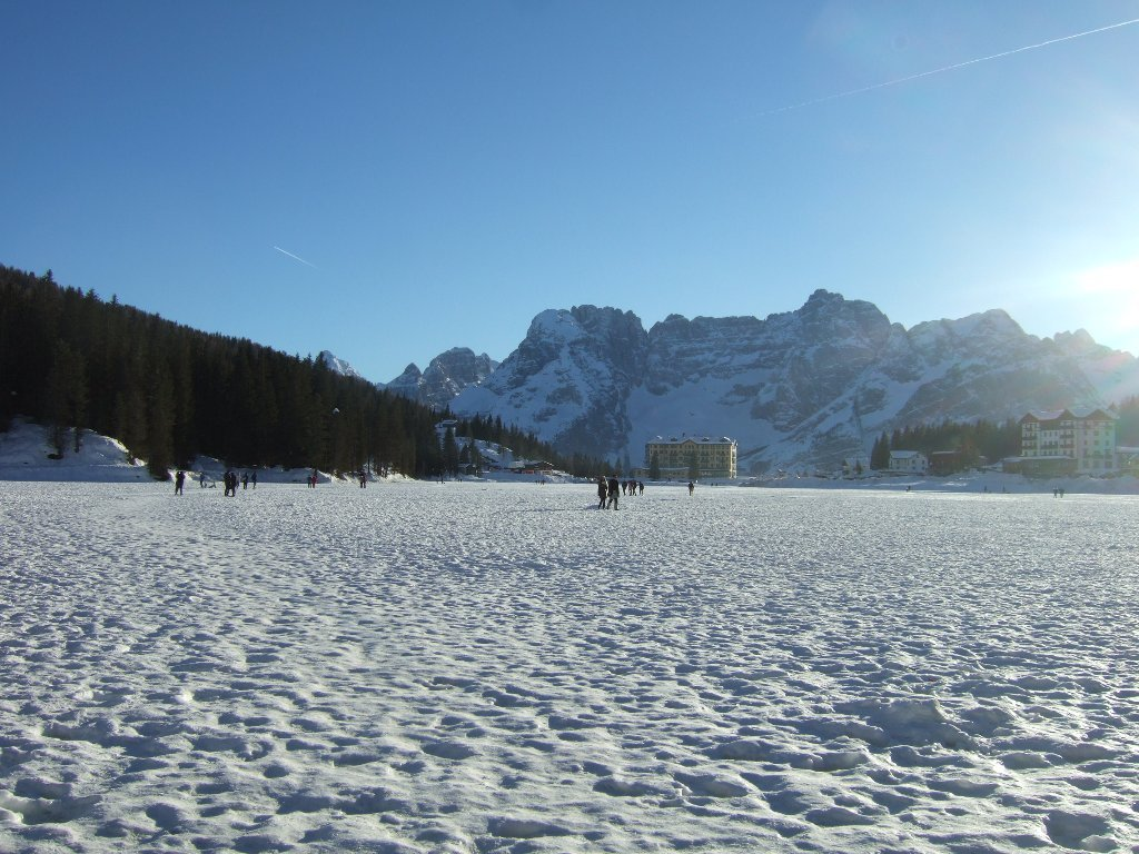 Piana (Monte) dal Rifugio Auronzo 2020-01-12