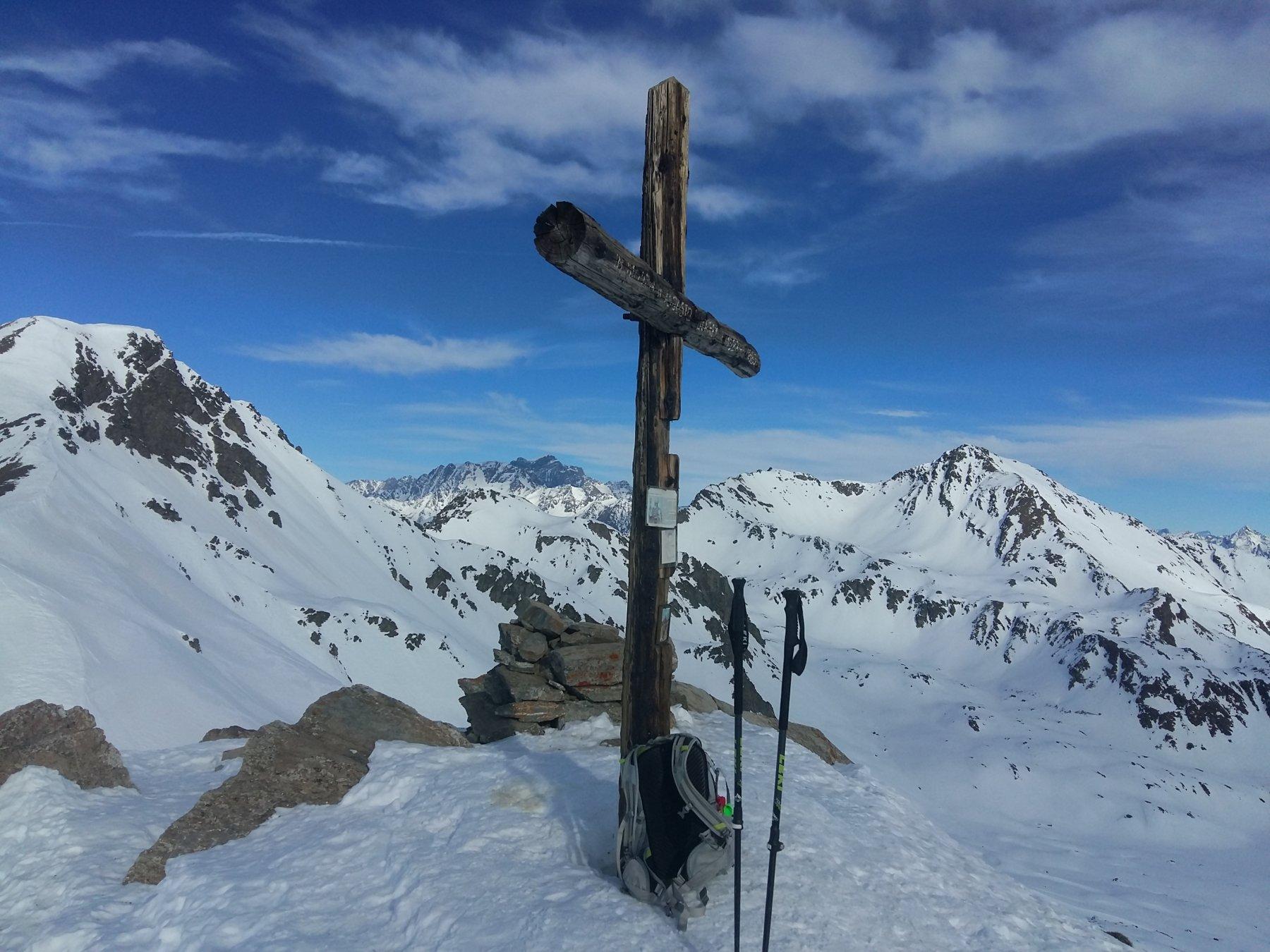 la bella Croce della cima