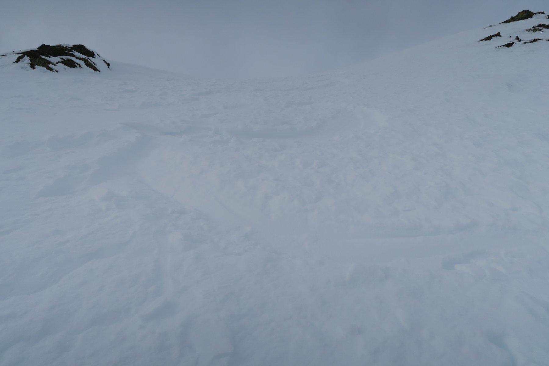 ottima neve ma purtroppo quando sono sceso la visibilità era un pò scarsa