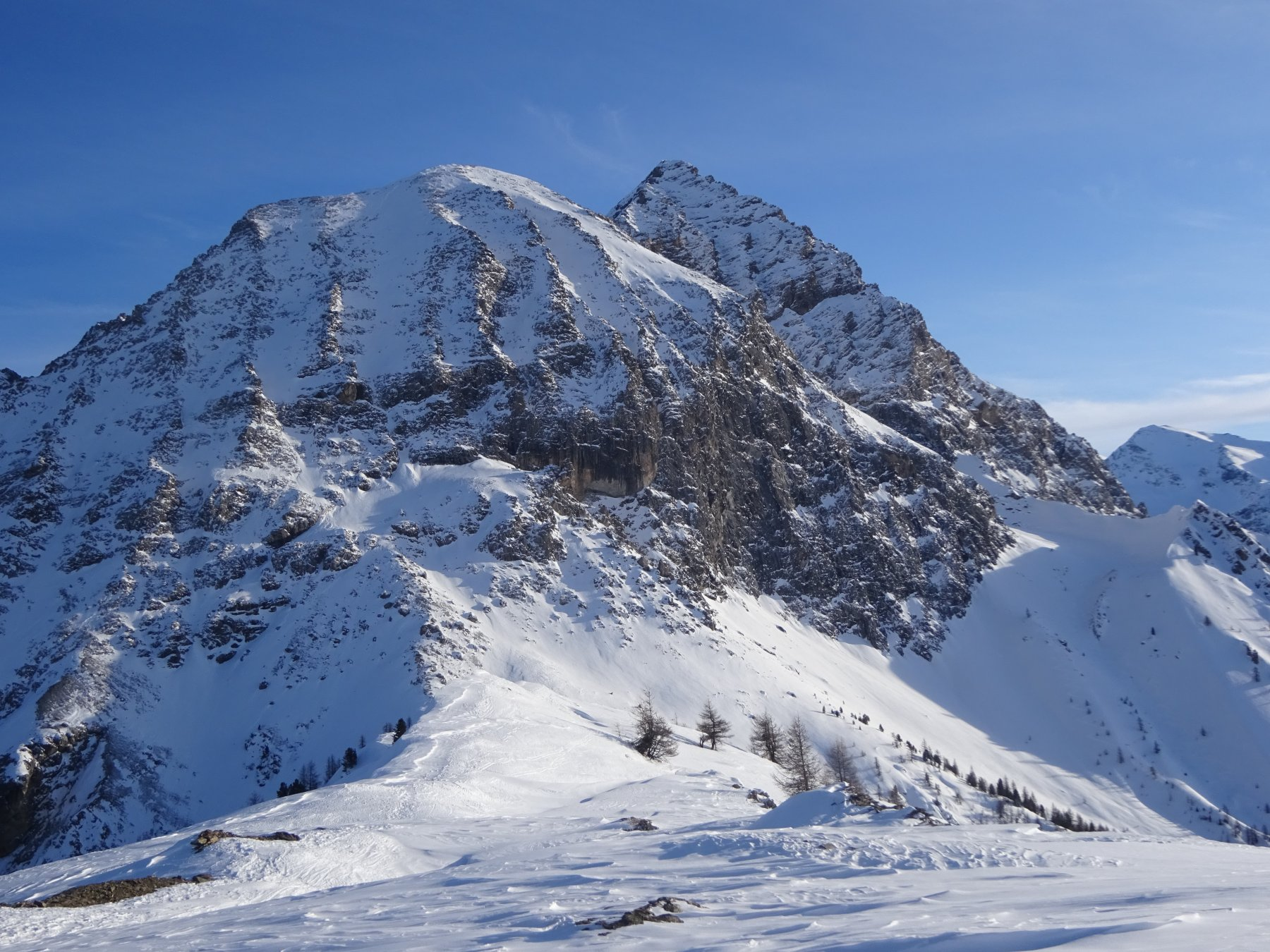 Monte Furgon versante Ovest
