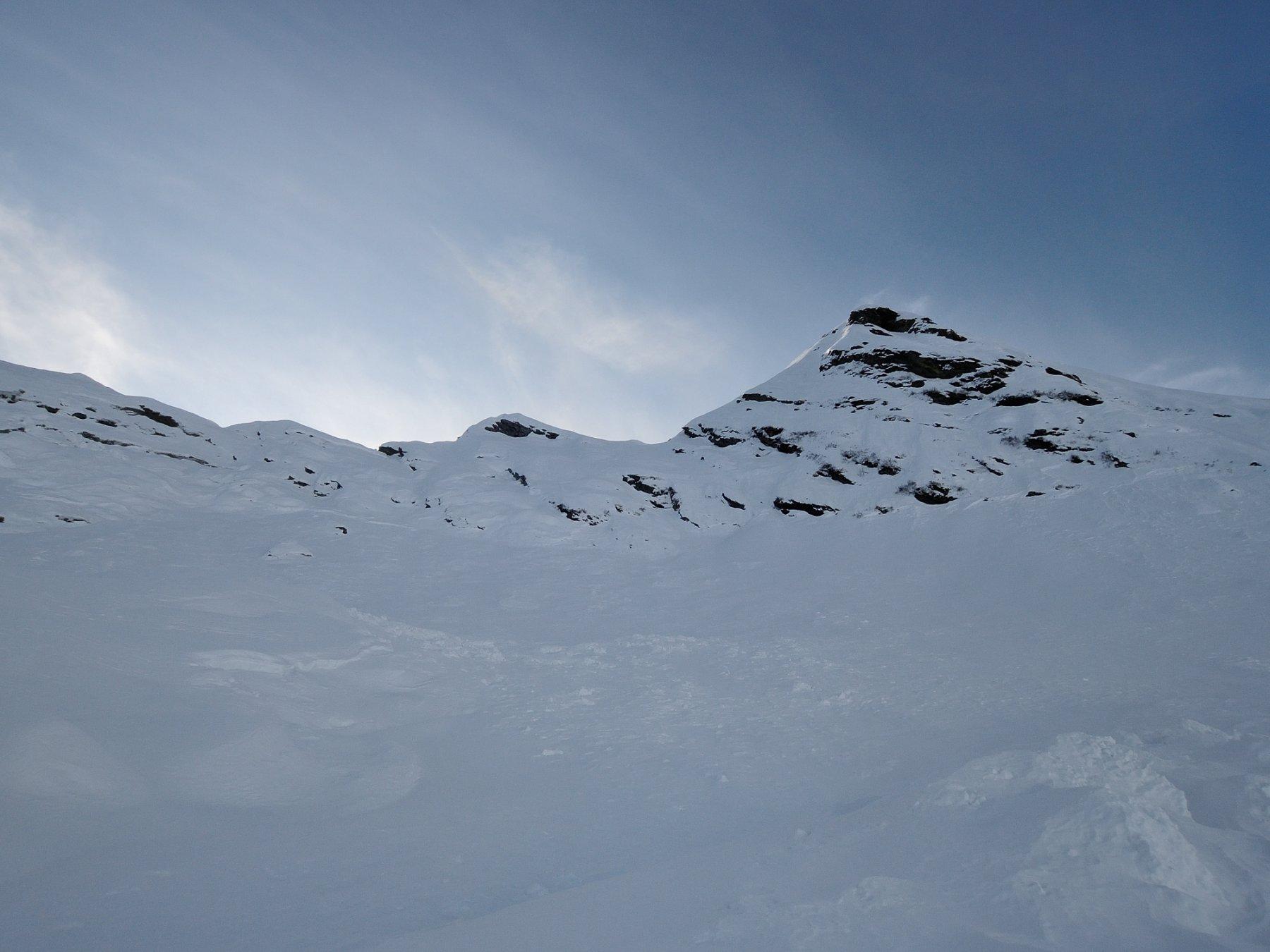 DSCN6617 Scaricamenti sotto la cresta Est della Laurasca