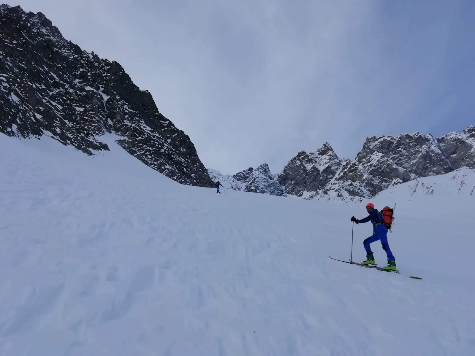 Ecot (Dent d') quota 3080 m Canale dell'Ecot 2020-01-19