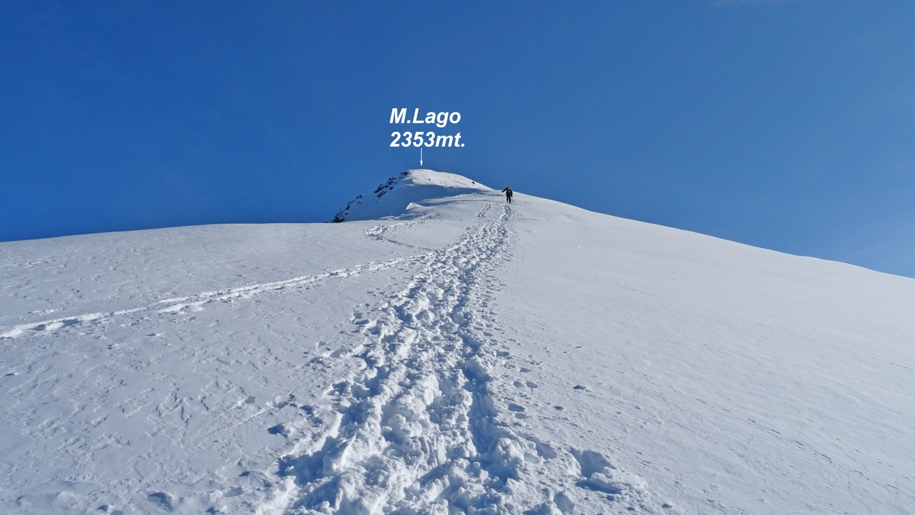 Cresta finale del M.Lago.