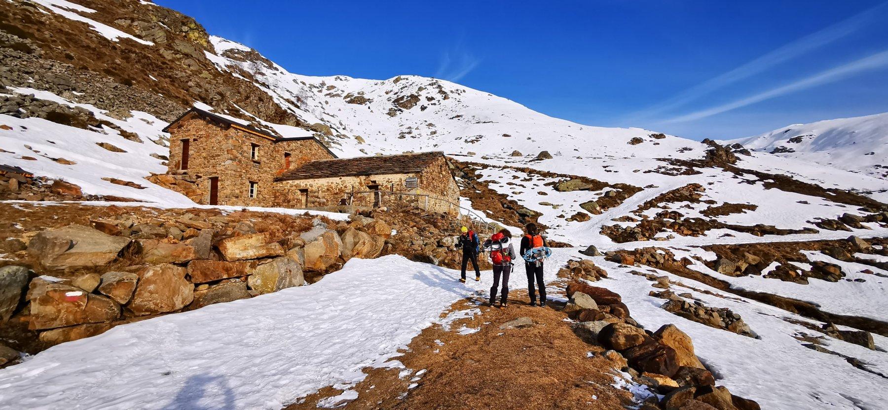 arrivando all'Alpe Pinalba m. 1585