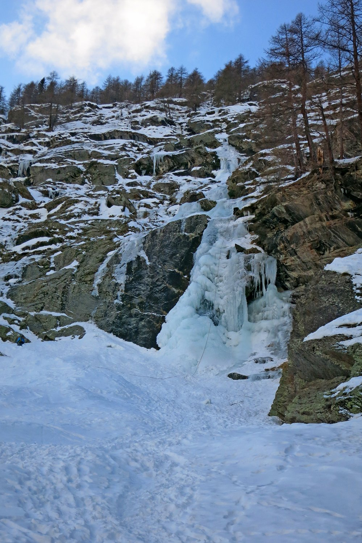la cascata oggi 20 gennaio 2020
