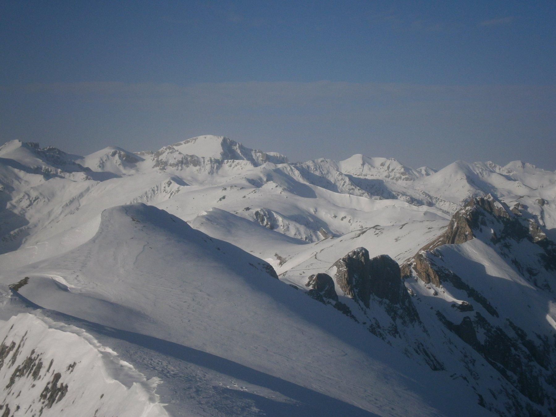 Alpi Liguri dalla cima