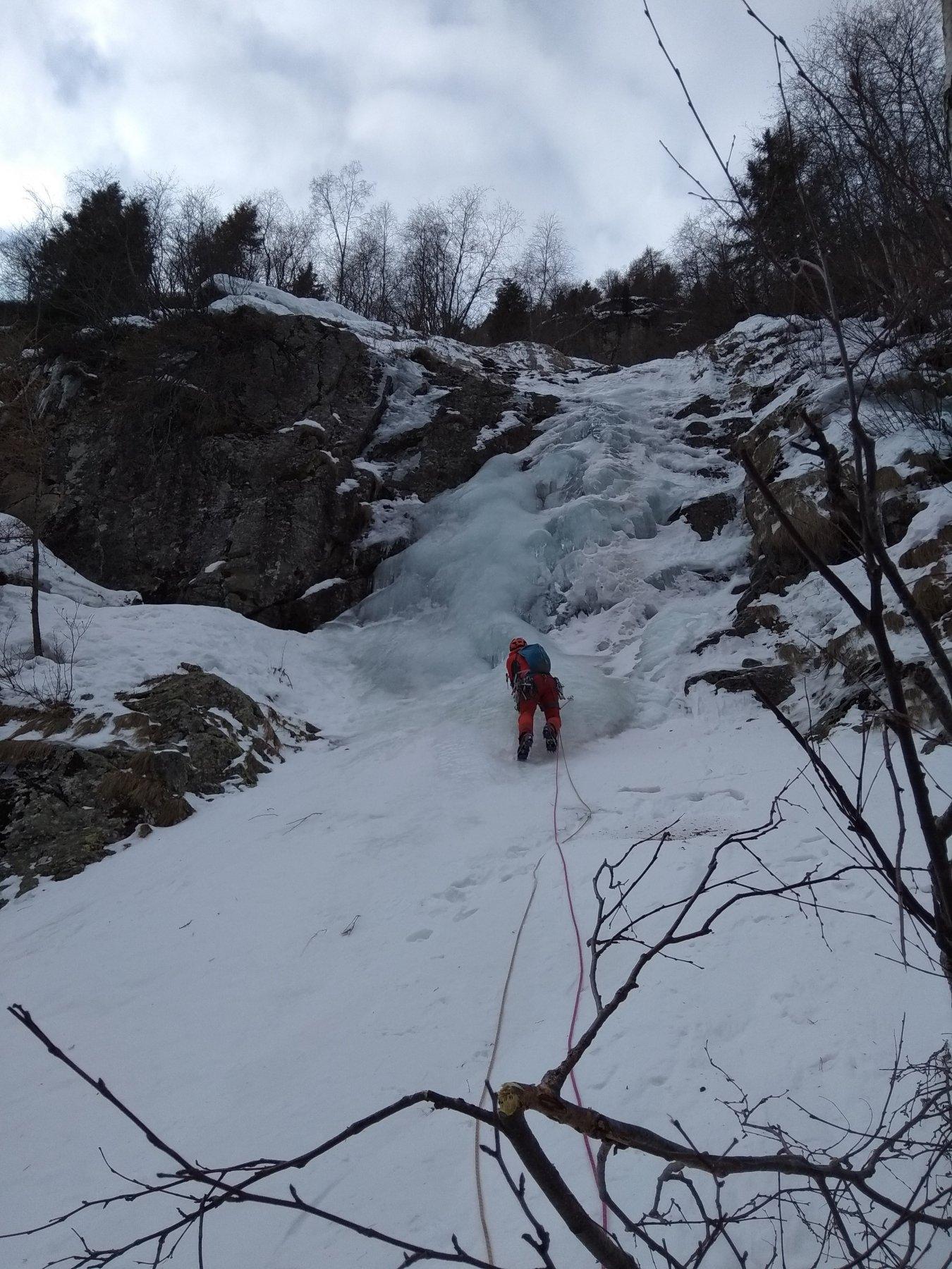 Paghera Uno (Cascata) - Val Paghera 2020-01-25