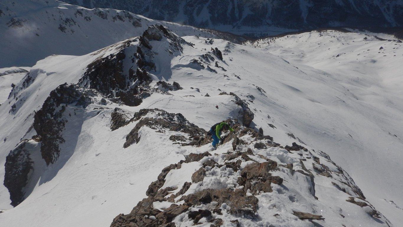 Cresta arrampicata