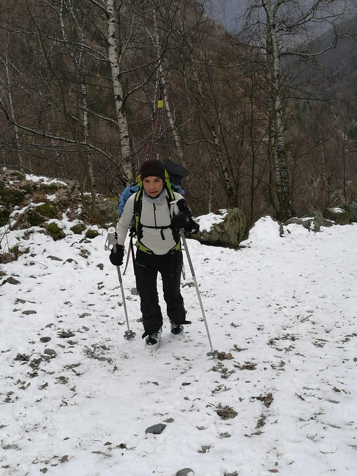 Warm up per raggiungere i primi alpeggi
