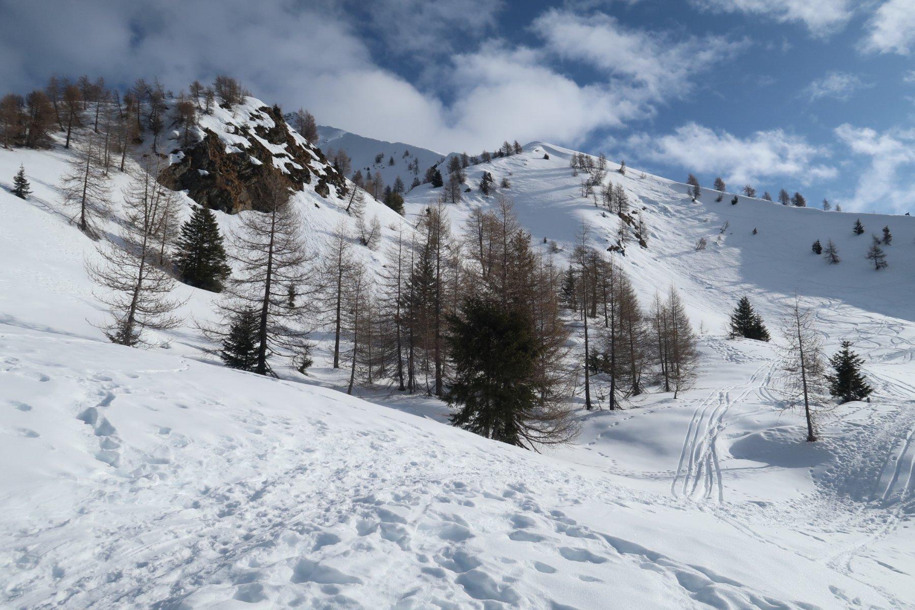 Innevamento sopra Alpe Piazza