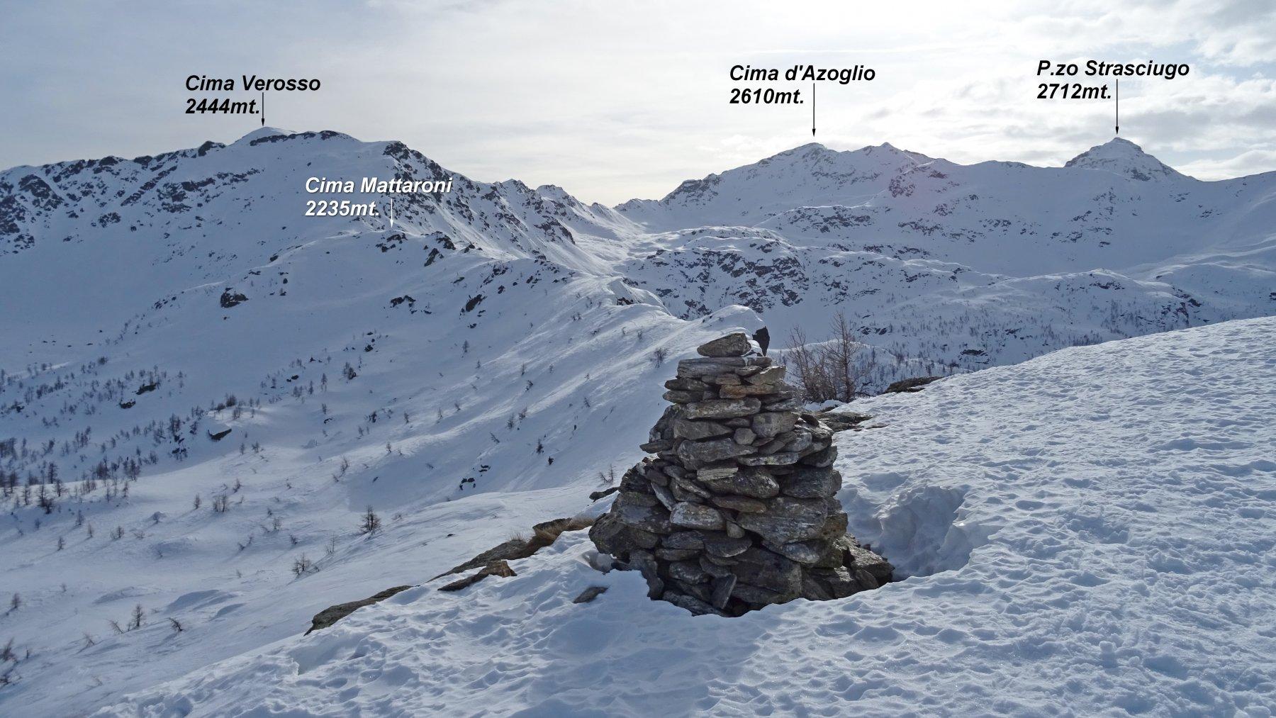 Panorama dalla Cima del Tirone 2202mt.