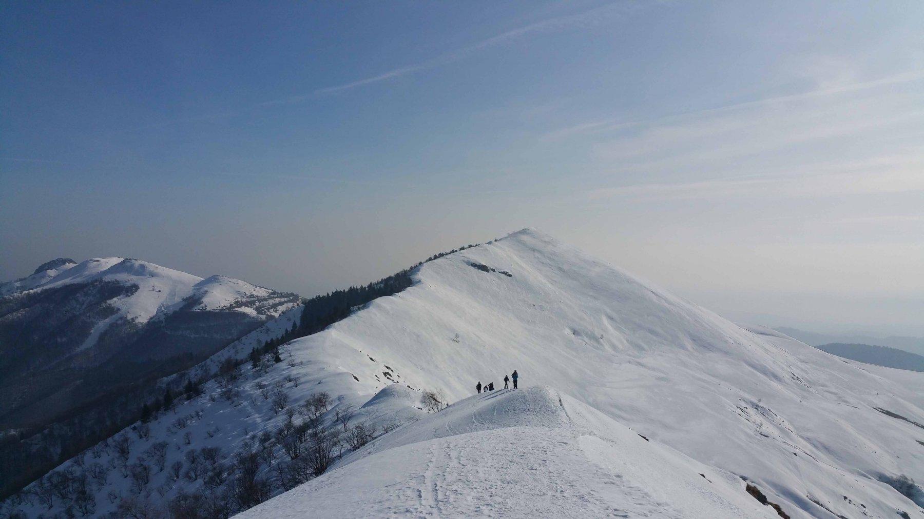 La bellissima cresta del Monticchio