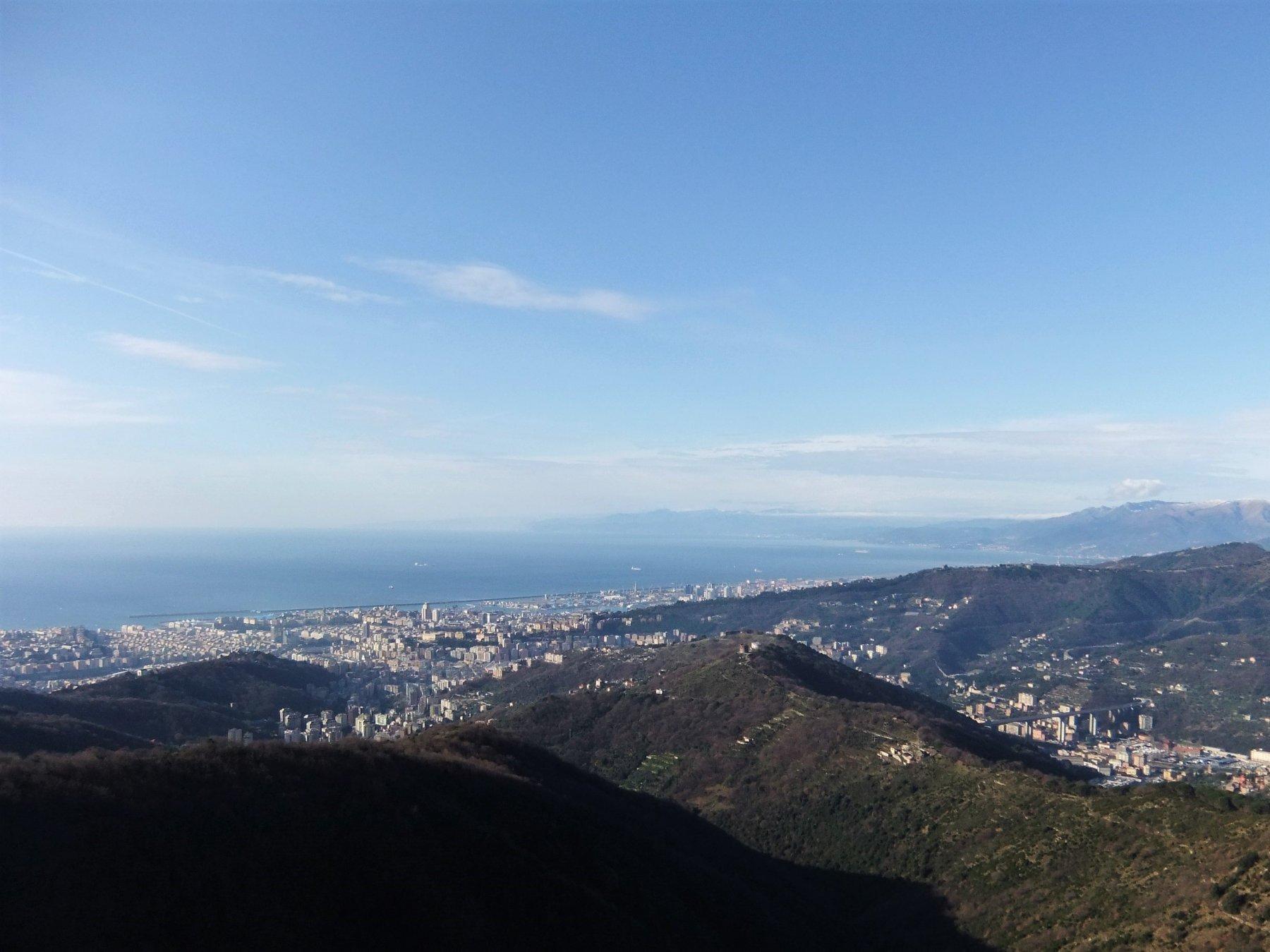 Genova vista dal forte