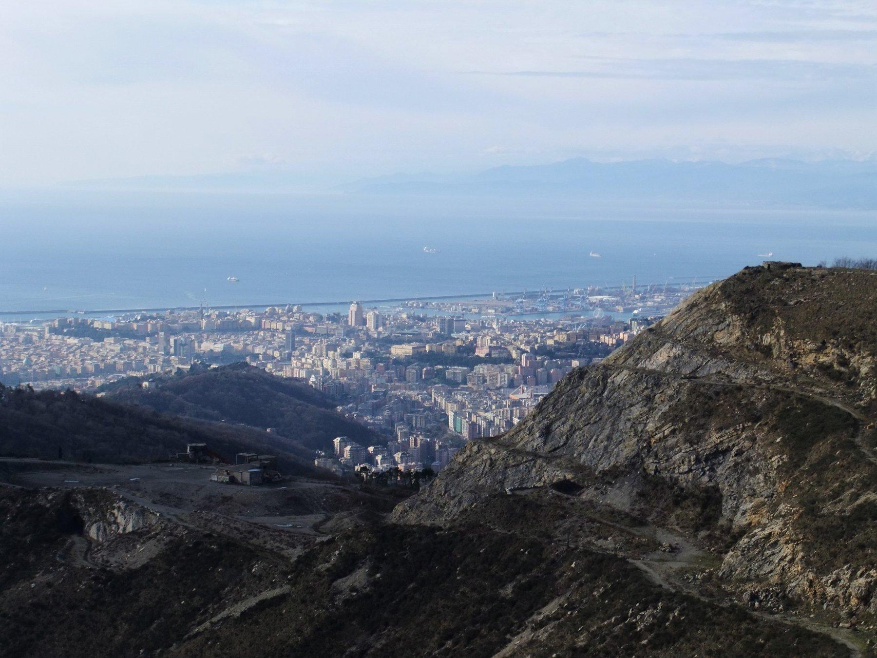 Genova dal Monte Poggiasco