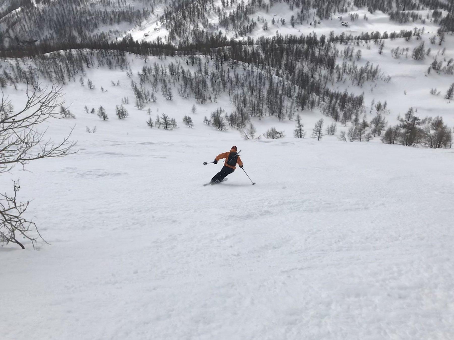 Gran sciata dalla pala