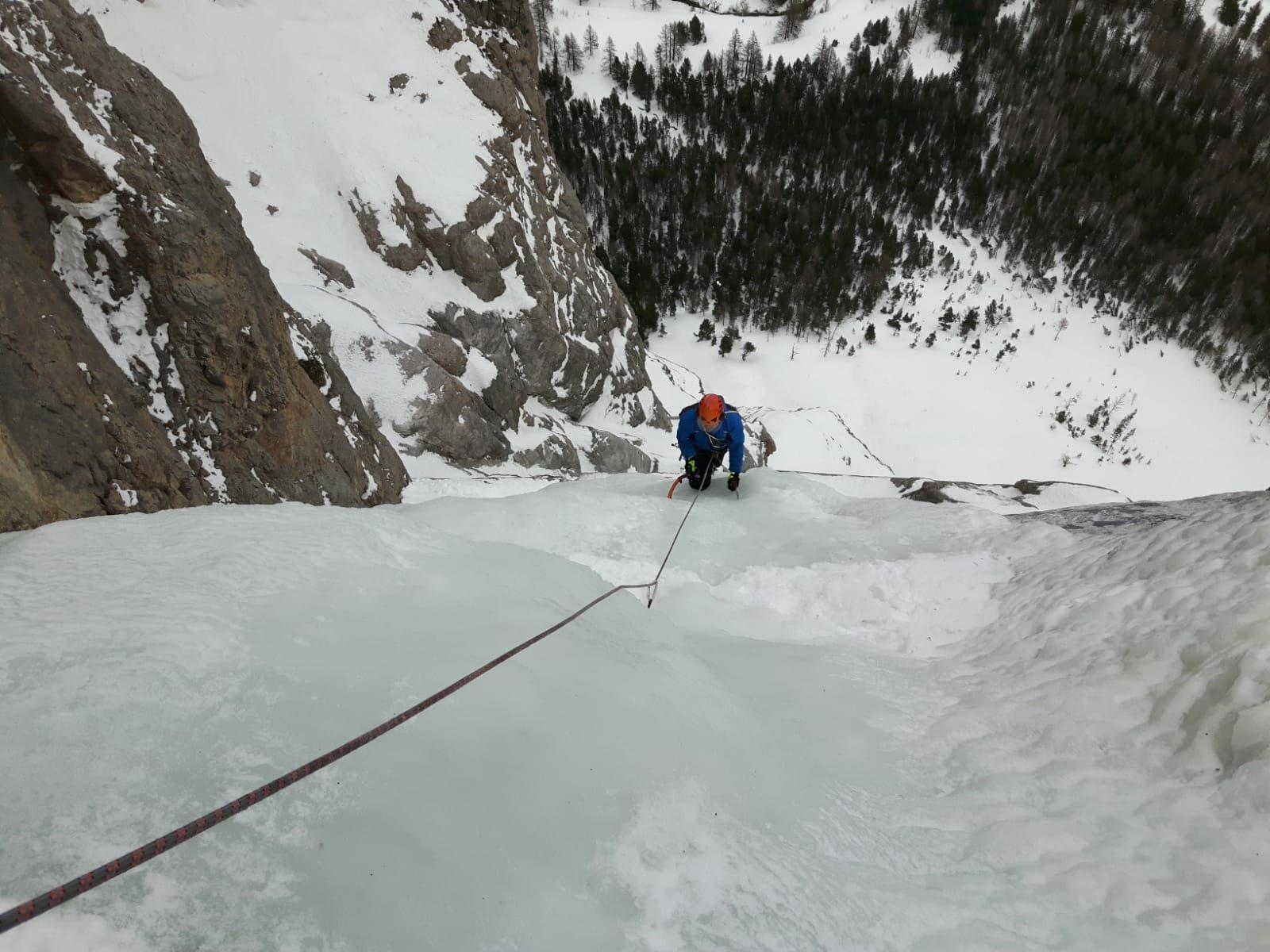 Valle Stretta Milit-Ice (Cascata) 2020-01-26
