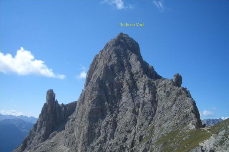 Cresta nord della Roda de Vaèl (con relativa ferrata)