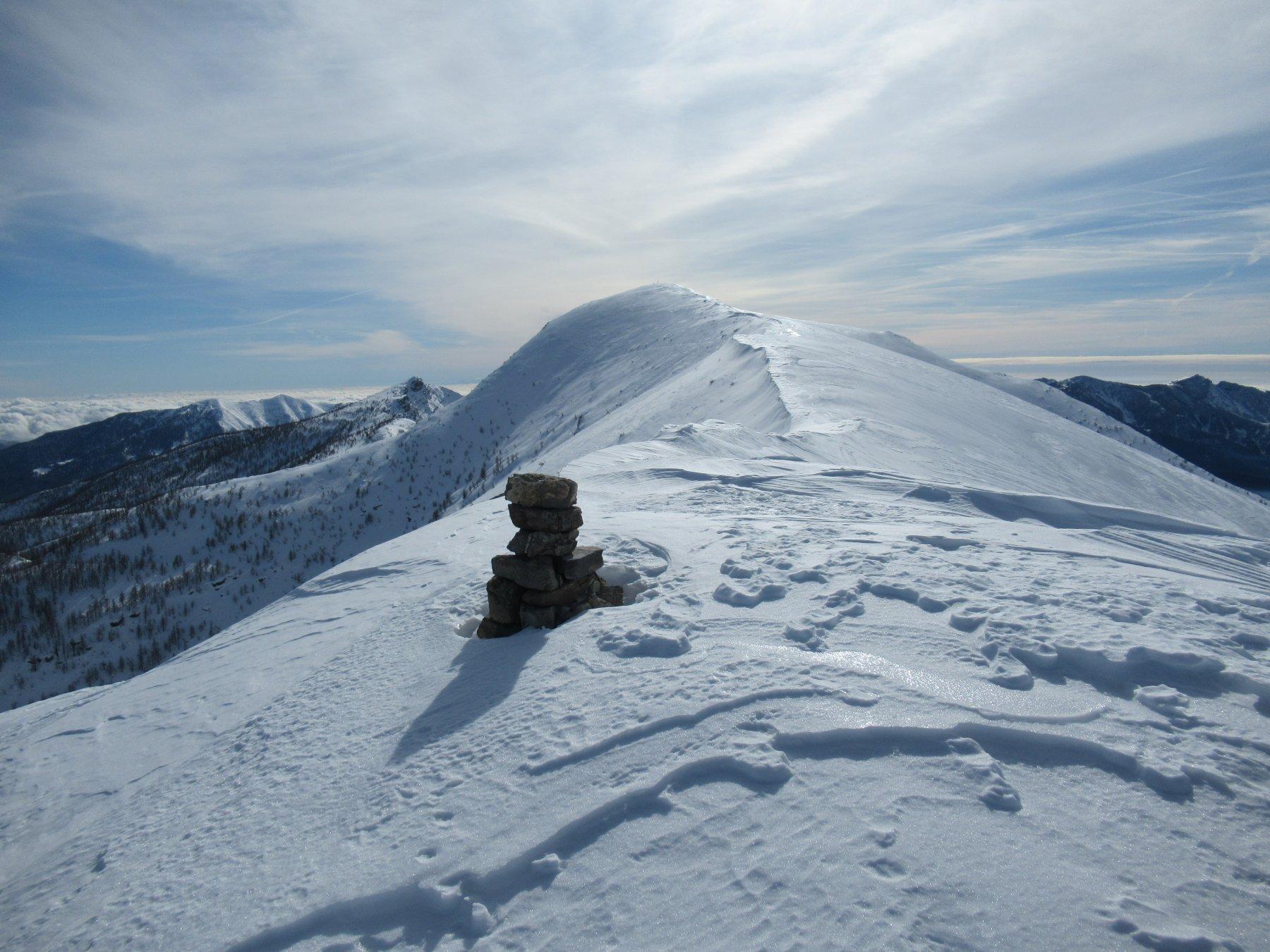 Monte Bertrand dalla Cima di Velega (m.2382).