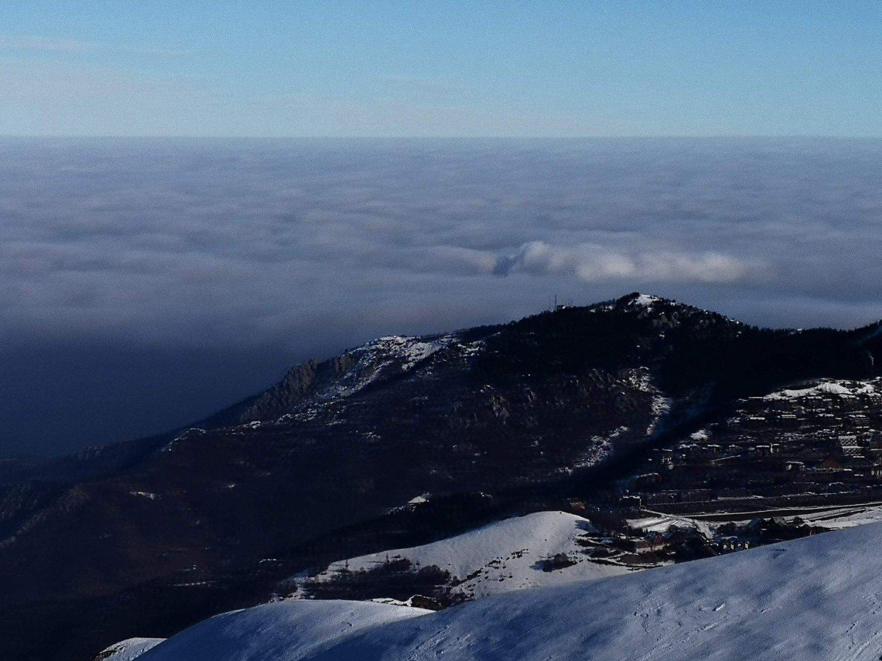 Il mare di nubi in pianura
