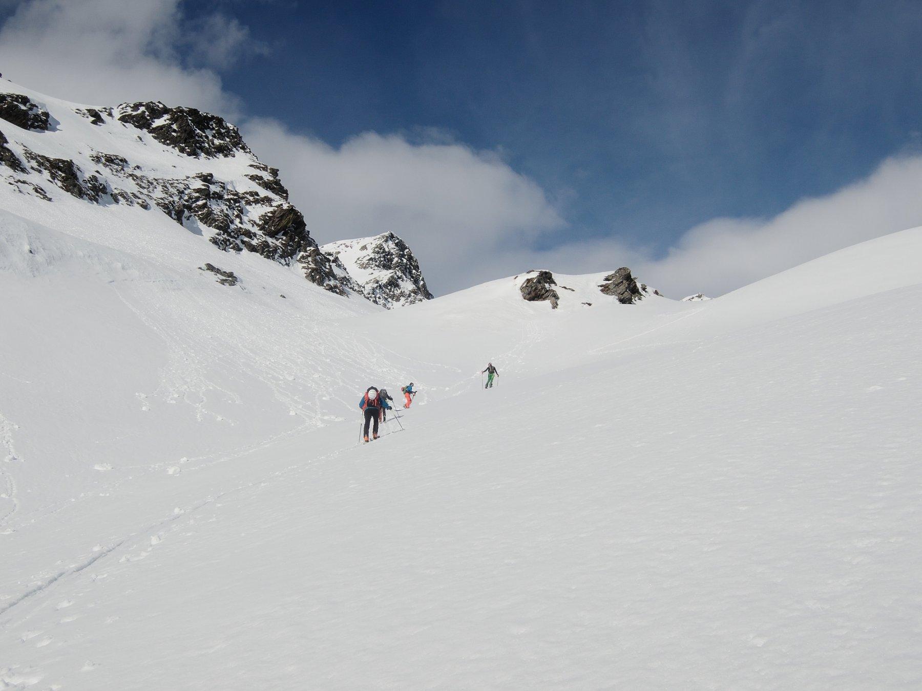 Pendii a monte di Rossbodestafel