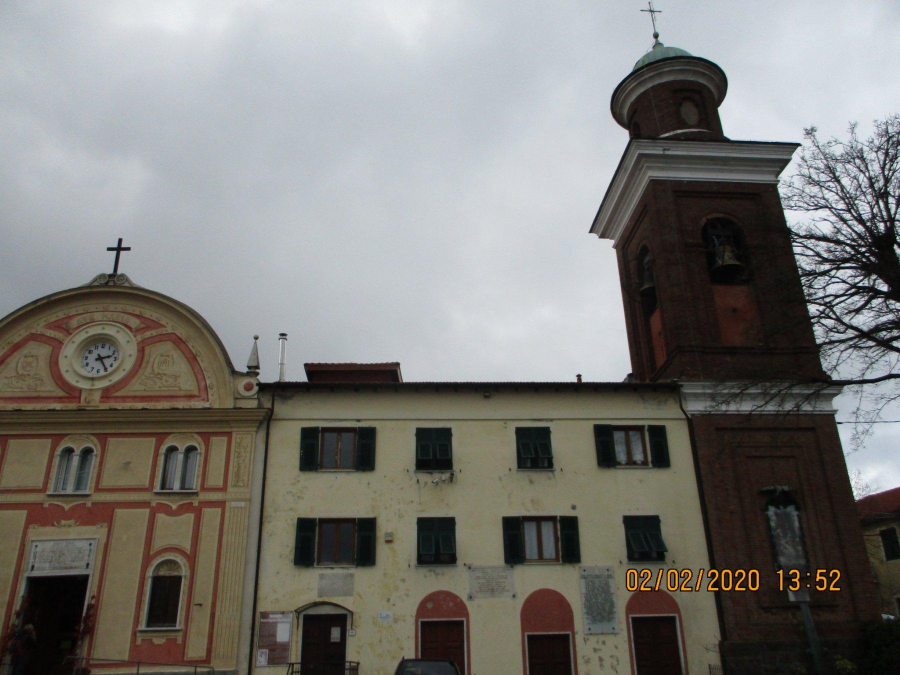 Vittoria (Santuario della) da Pontedecimo, traversata a Busalla 2020-02-02