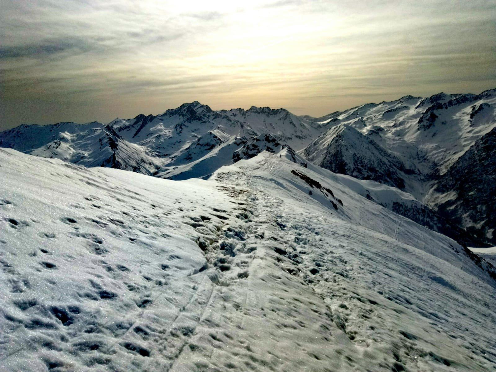 dorsale di vetta