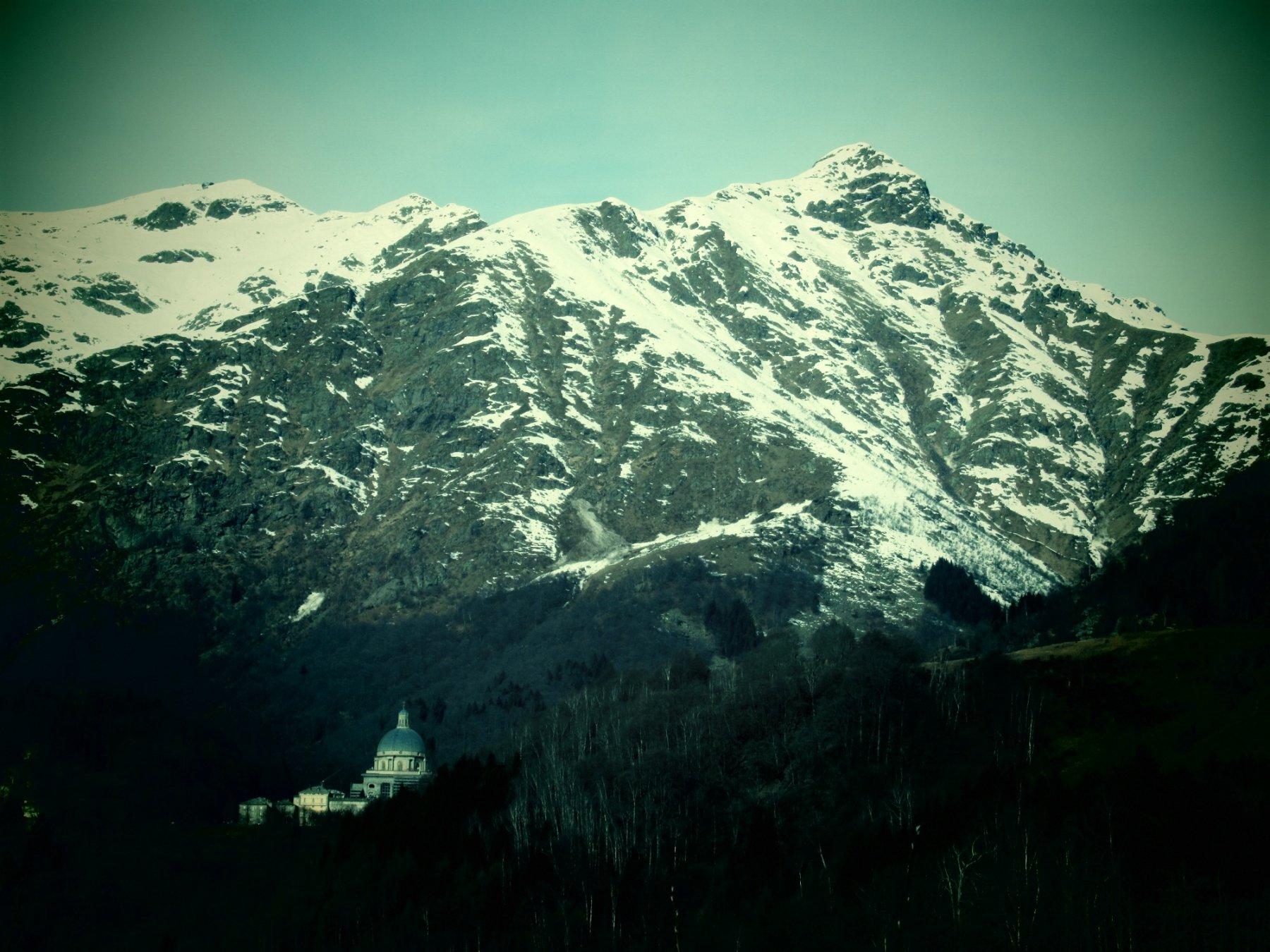 Monte Tovo e Santuario d'Oropa