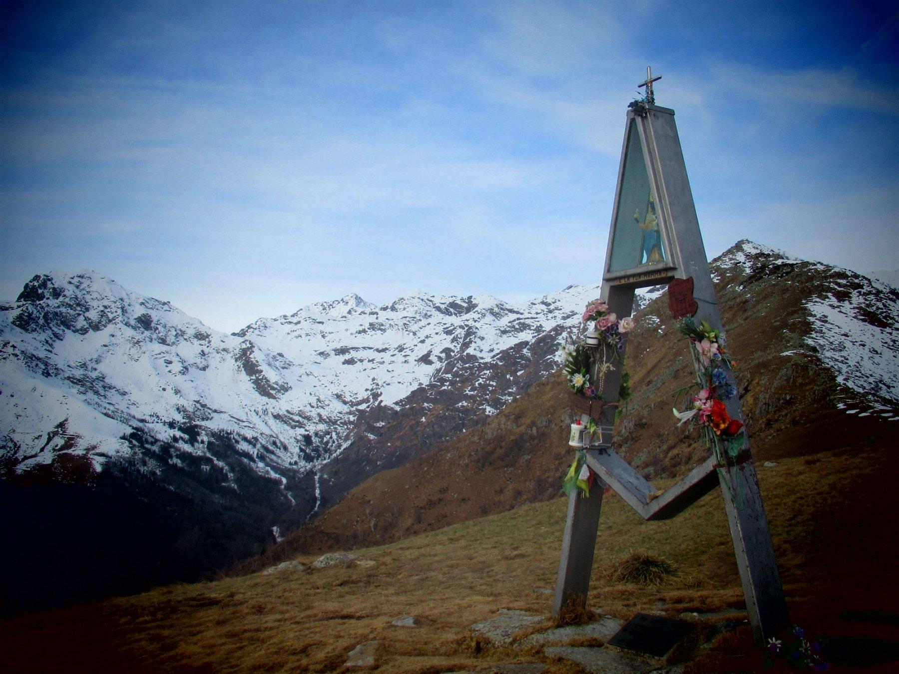 Madonna d'Oropa sul Monte Cucco