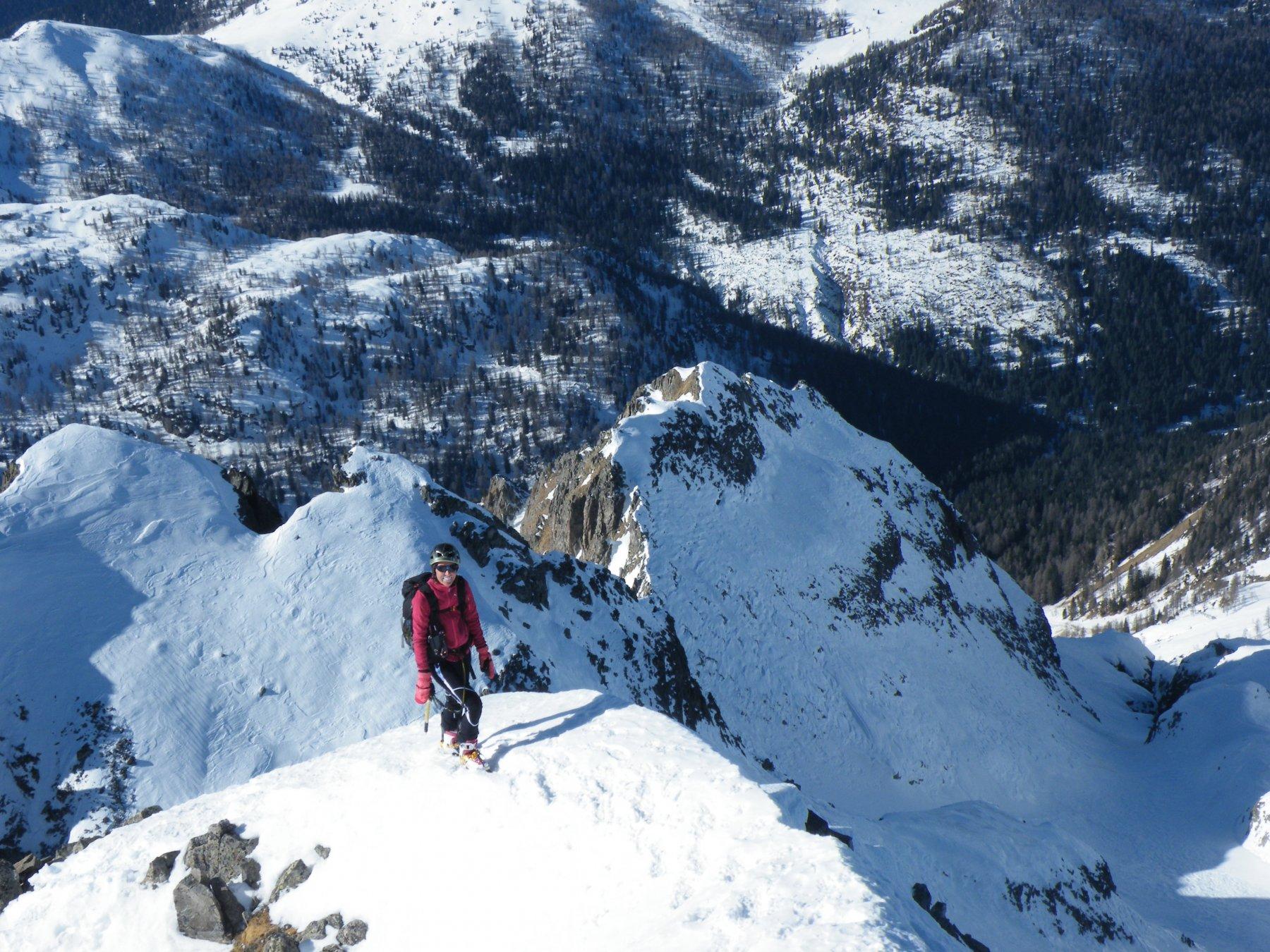 ultimi tratti prima della cima