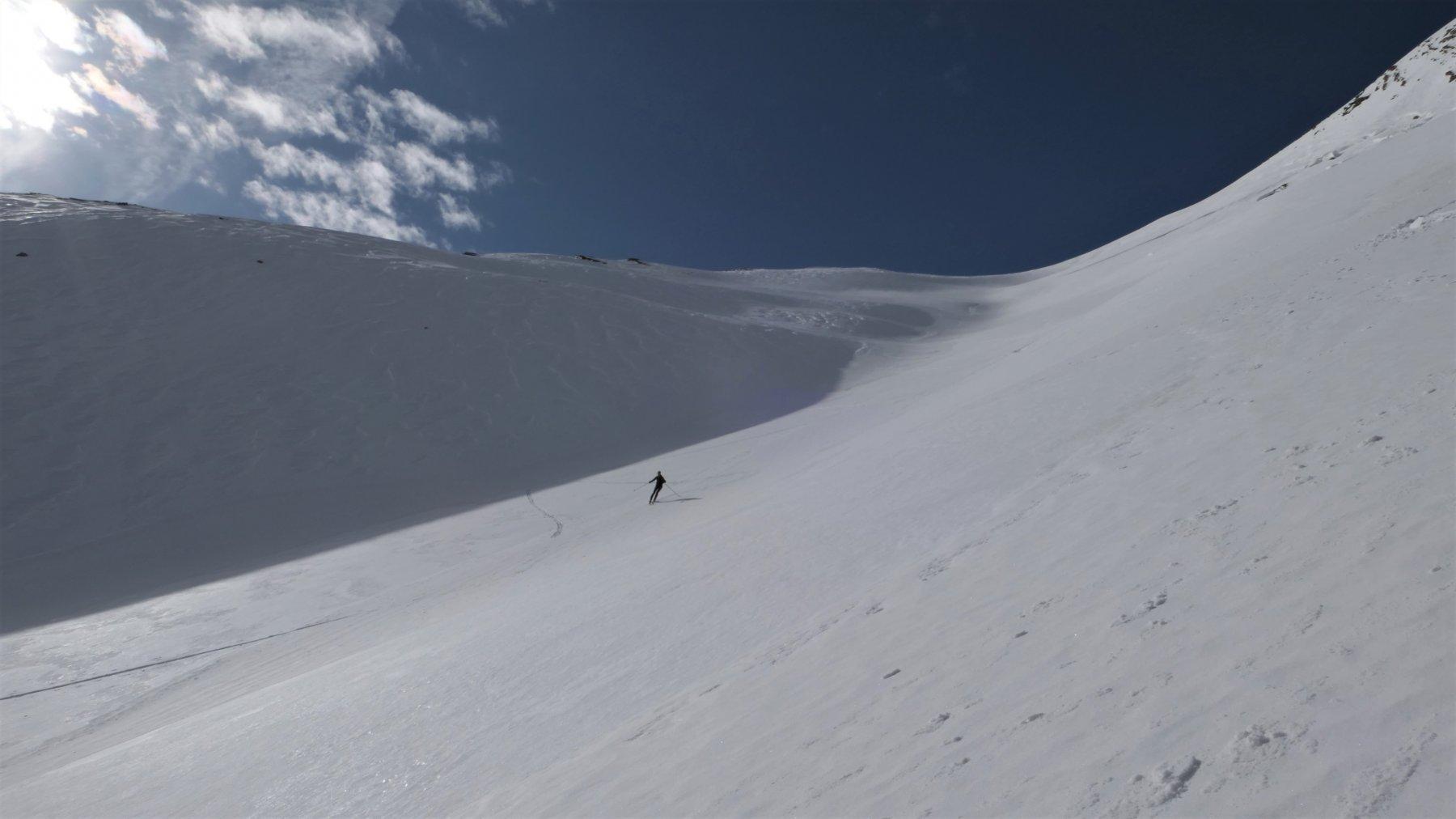 curve su neve portante