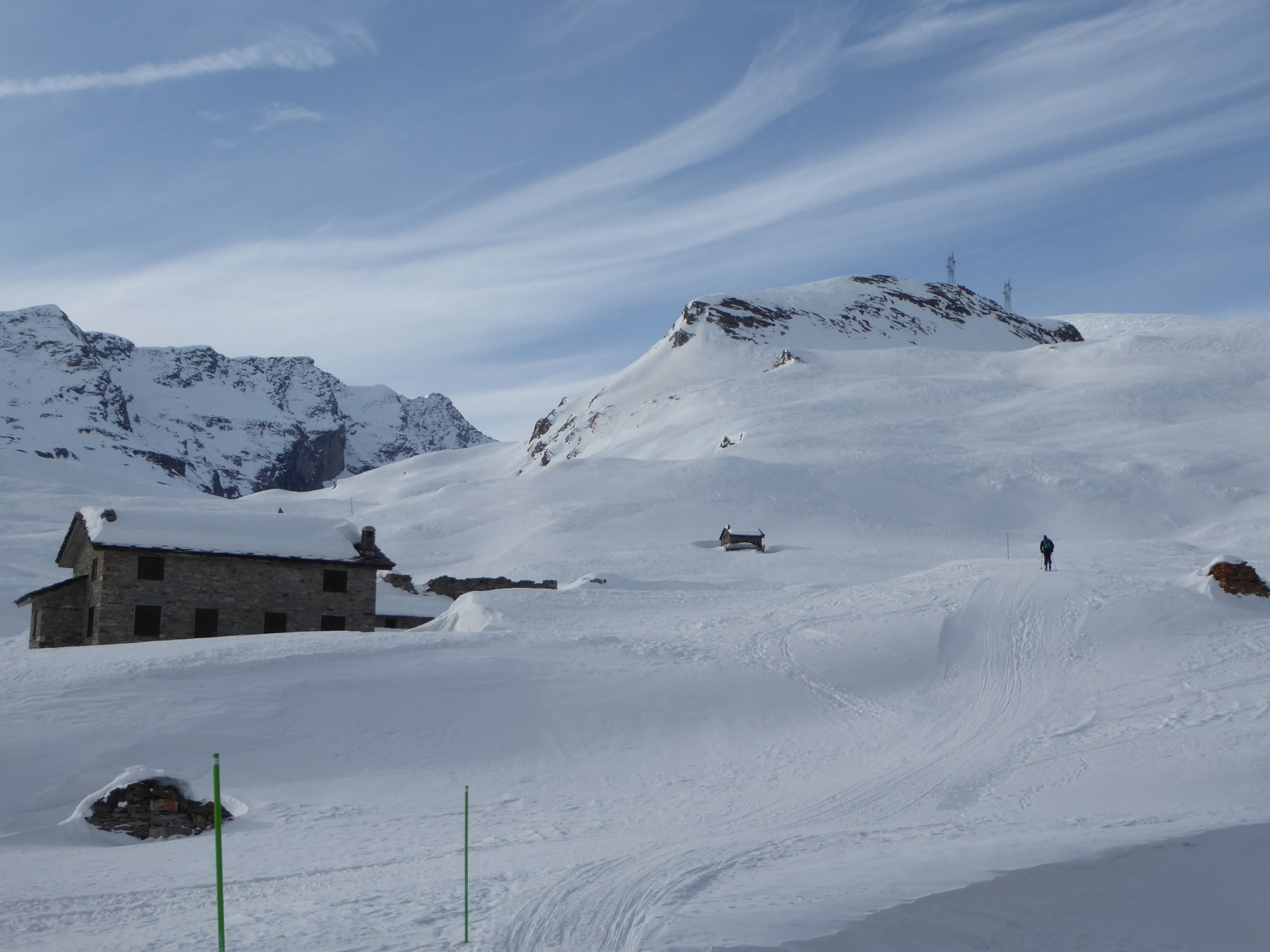monte Dondena col versante Nord-Ovest salito