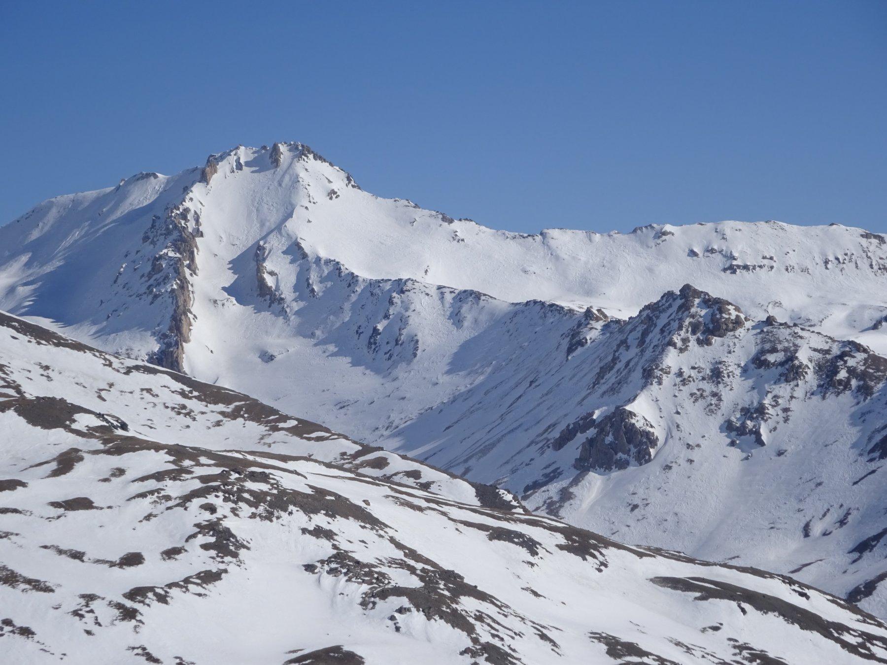 Il Vallonetto - versante nord - dalla Testa del Ban