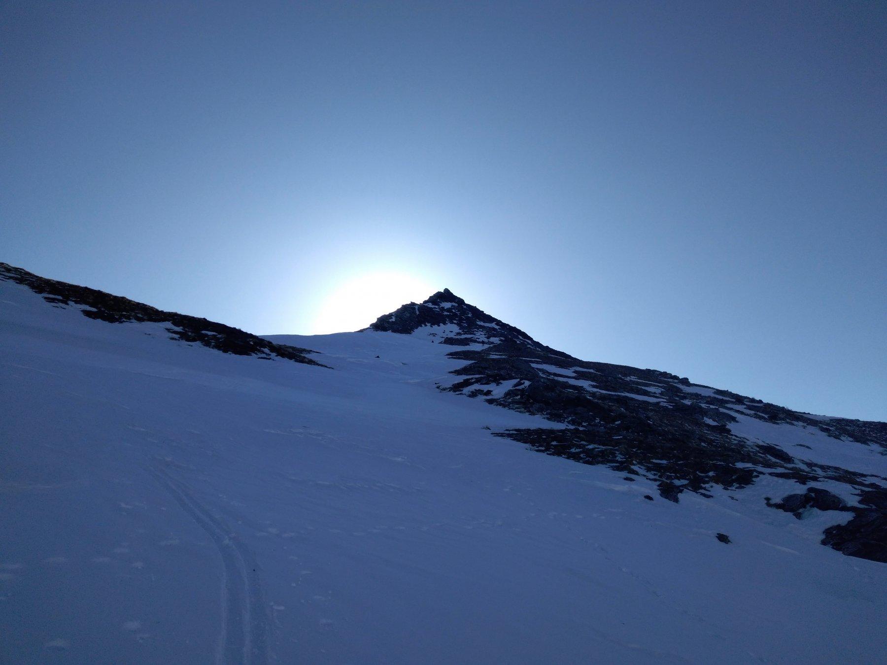 Antecima dove si lasciano gli sci