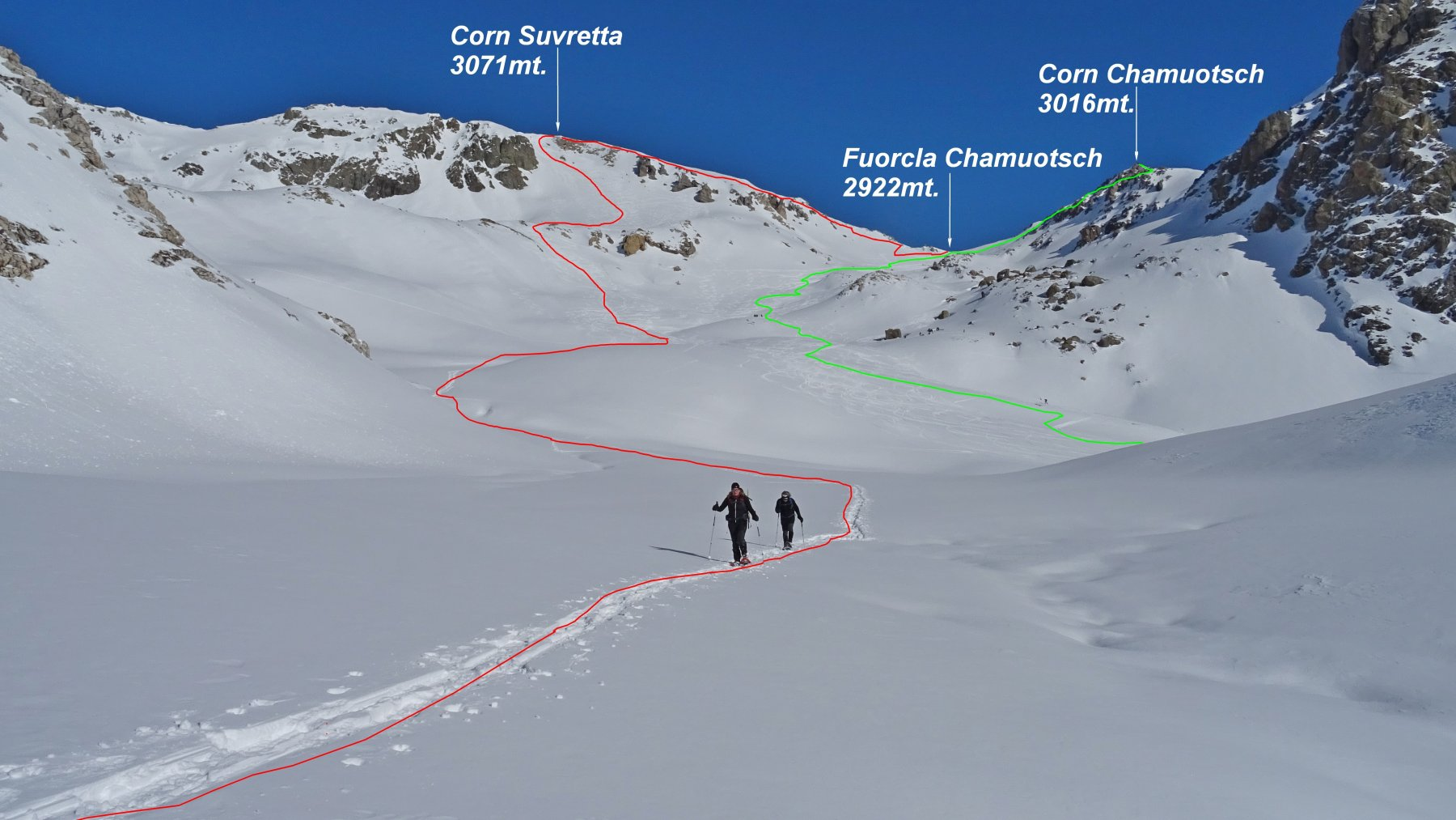 Chamuotsch (Corn)dall'Alp Güglia 2020-02-09