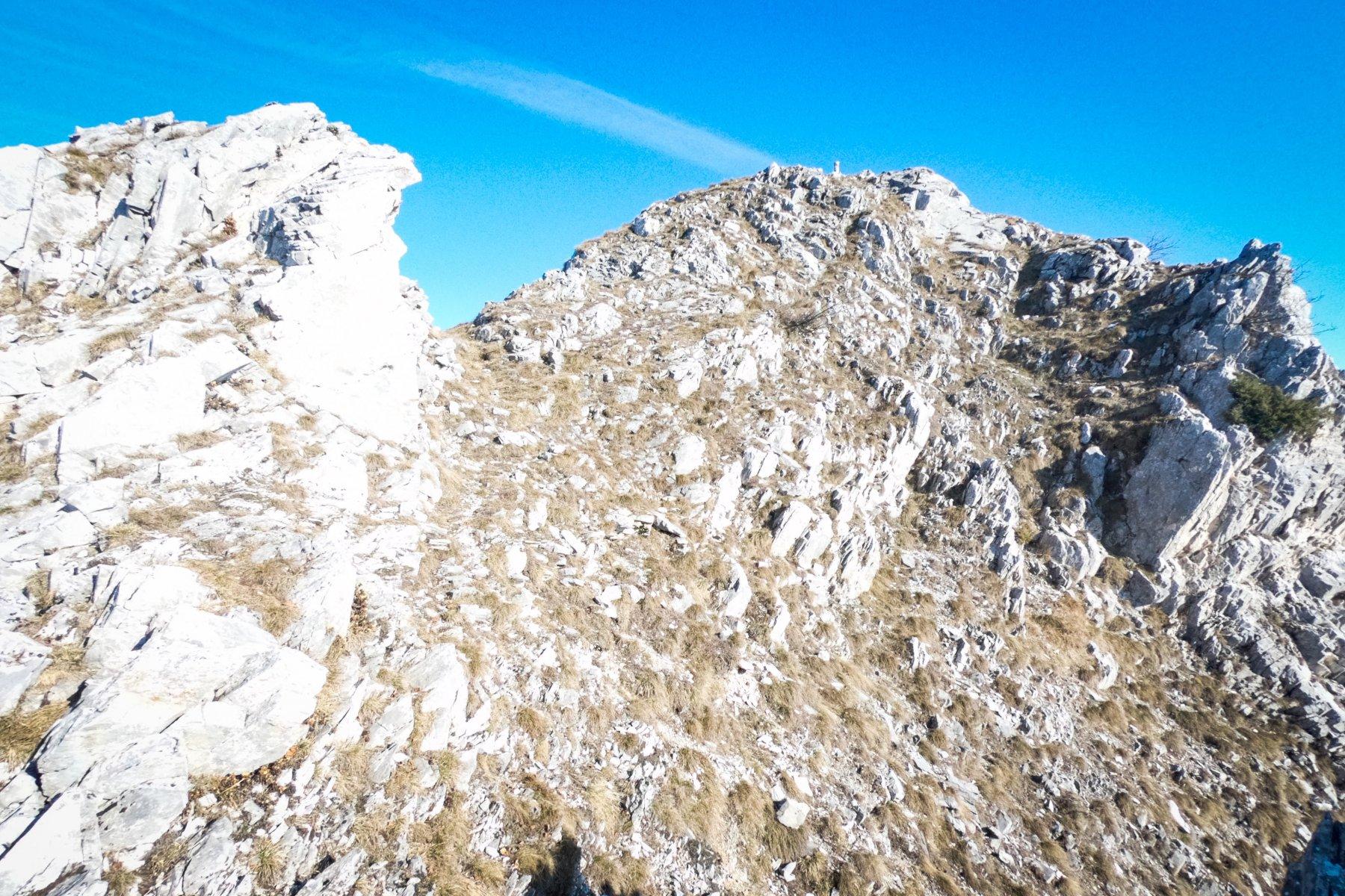 In vista della cima della Pissousa
