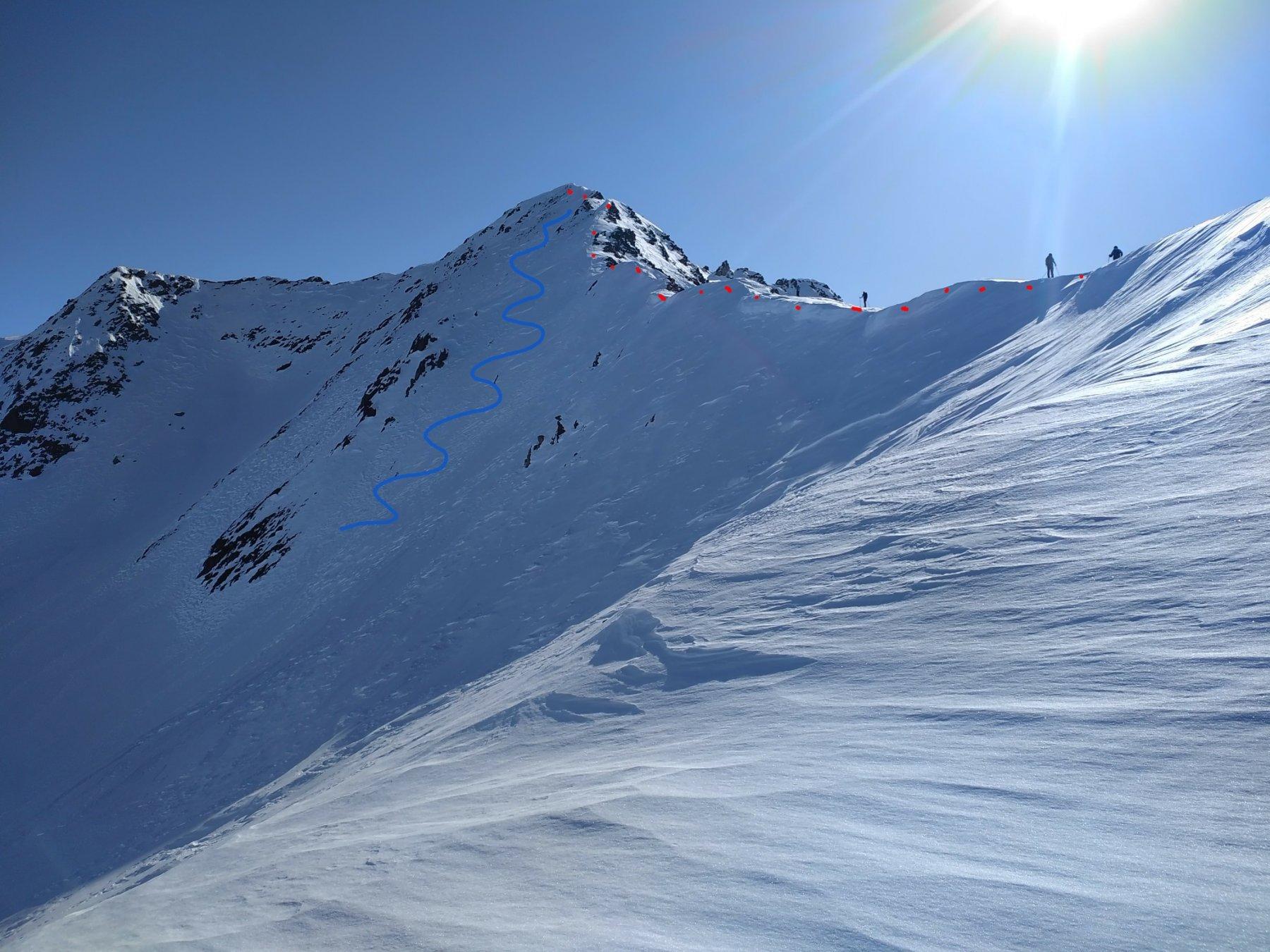 Vago (Monte) dall'Alpe Campaccio 2020-02-09