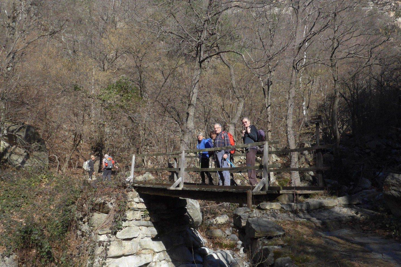 Sul ponte di Roca Rusa