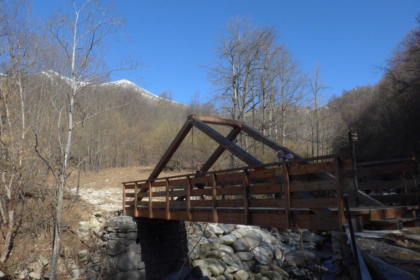 Sul ponte del Mulinas