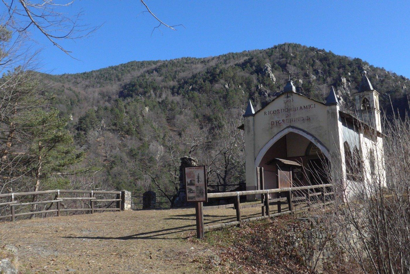Alla chiesetta di Serforan