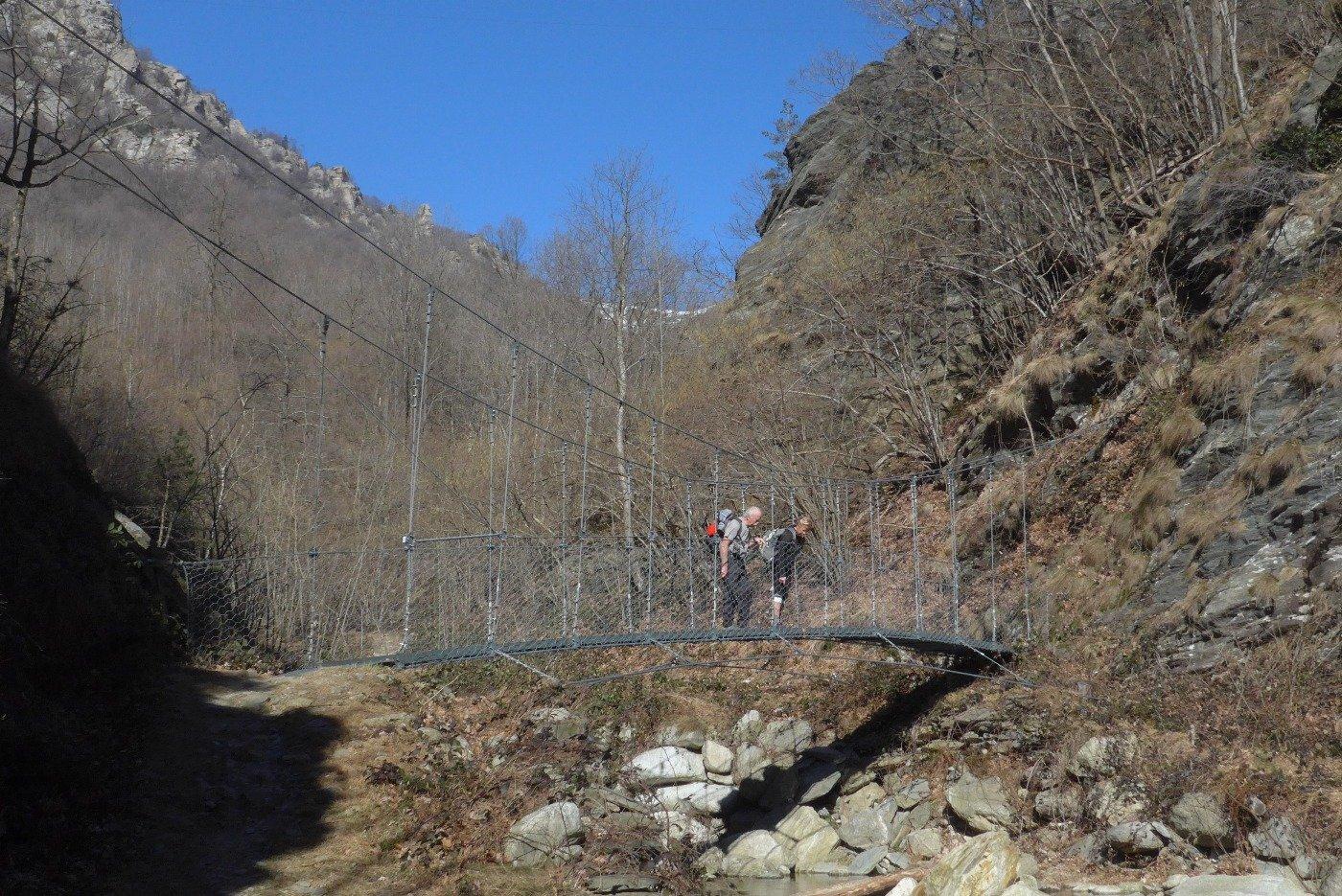 Sul ponte delle Gleisasse