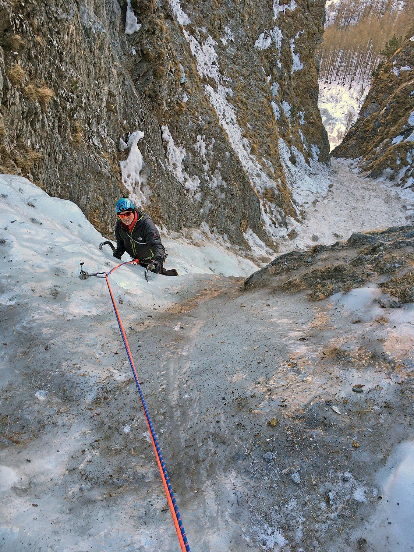 Valle di Bellino Ciucchinel(Cascata di) 2020-02-13