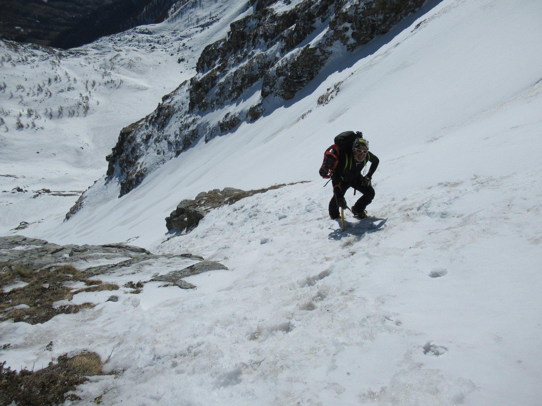 Chersogno (Monte) da Campiglione per il Colle di Chiosso 2020-02-14