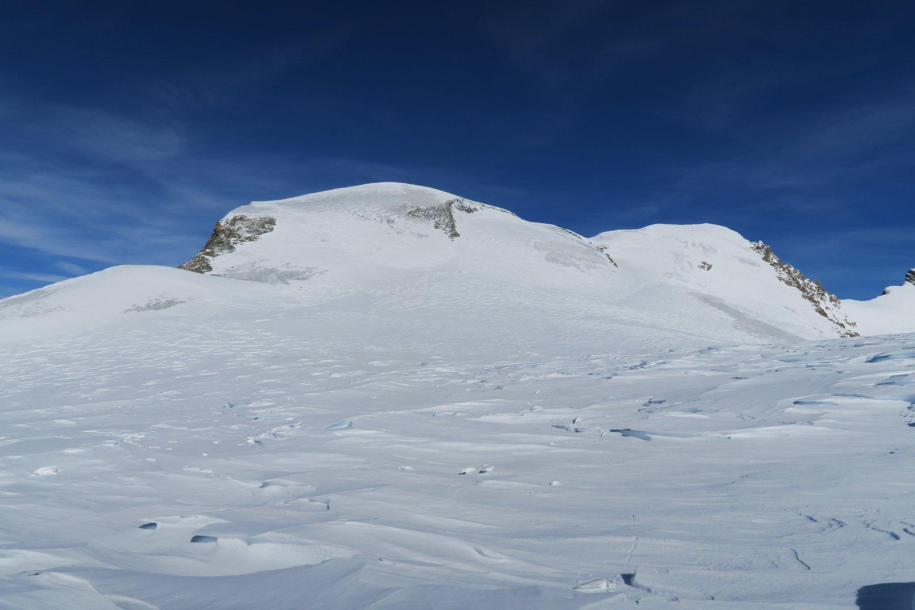Breithorn visto da sotto