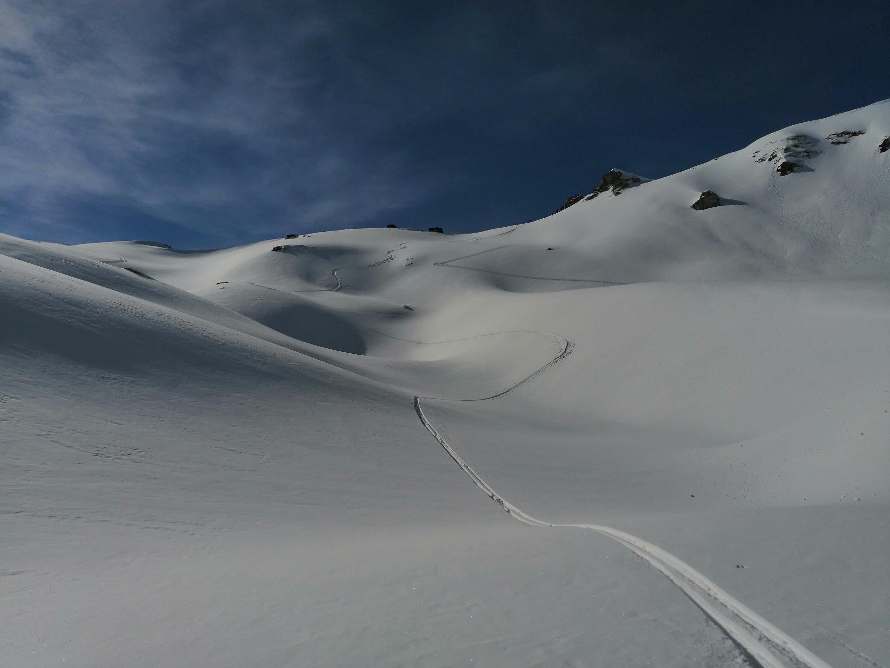 Chaleby (Col) quota 2695 m da Lignan 2020-02-15