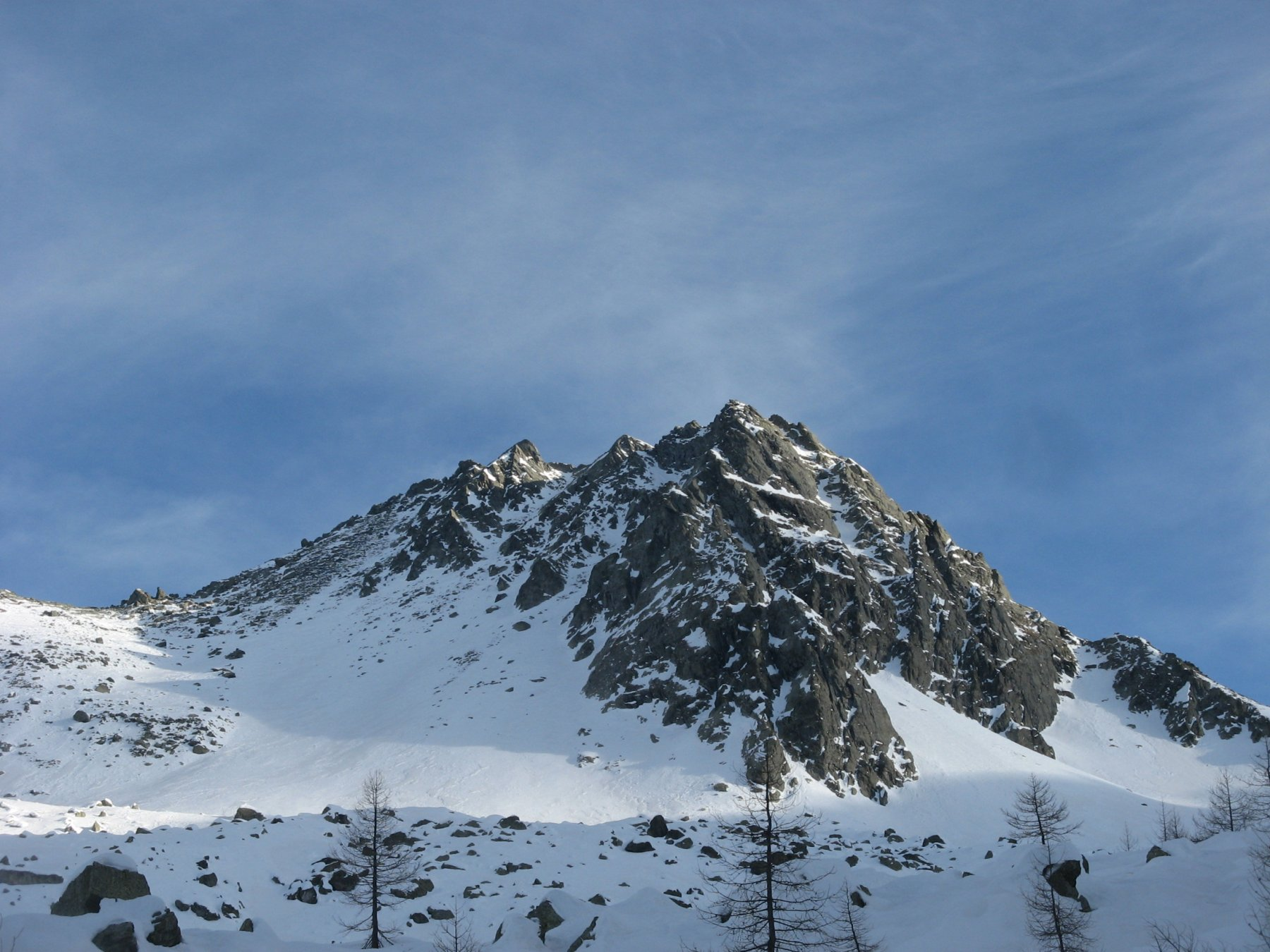 Manzol (Monte) Parete NO - Canale Centrale 2020-02-15