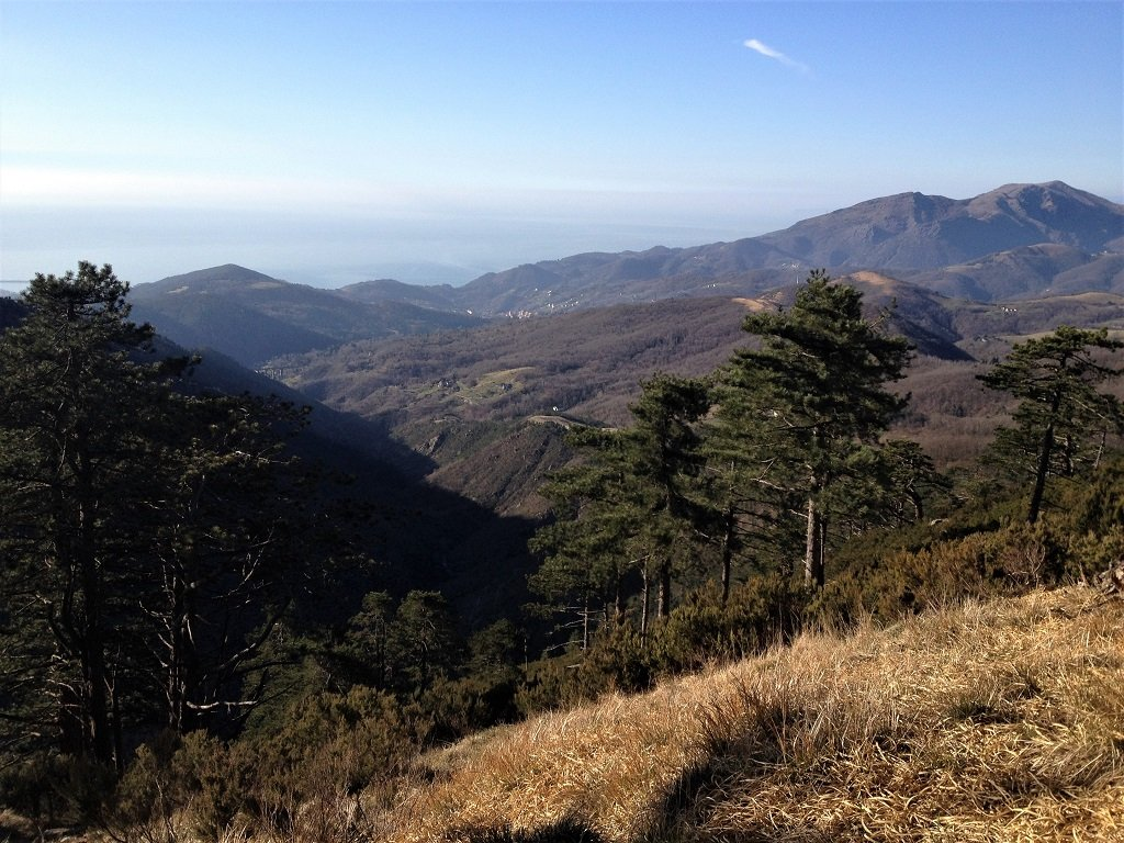Panoramica sul paesino di Mele