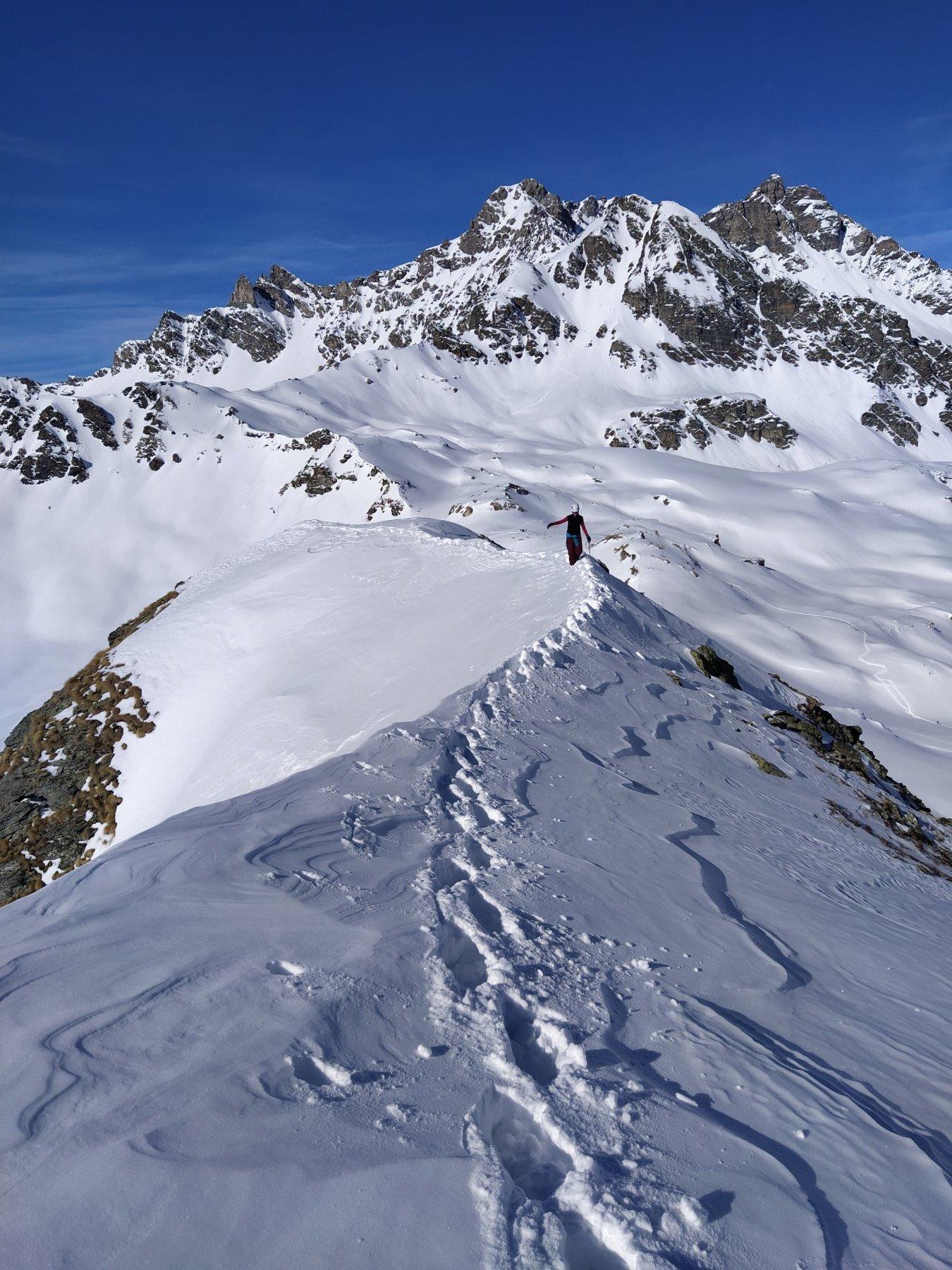 Morion (Monte) o Mont Rion da Lignan 2020-02-15